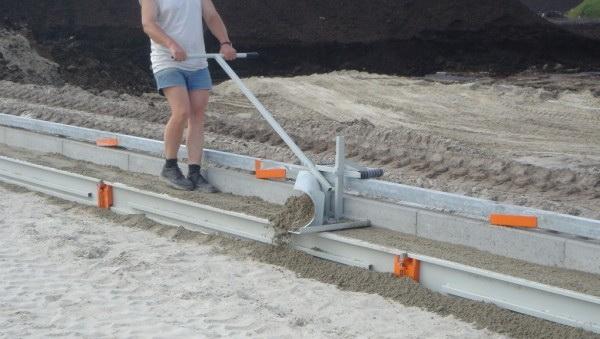 Bednění pro přípravu betonu